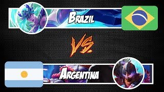 ●[AO VIVO] MOBILE LEGENDS - BRASIL 1 x 1 ARGENTINA
