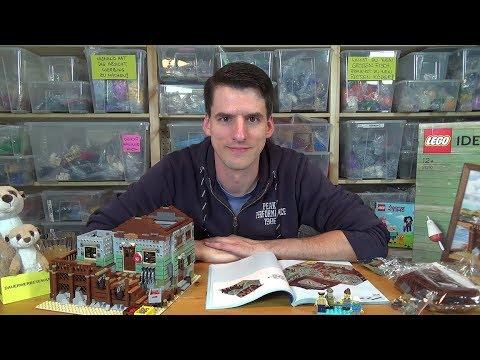 Bauen mit dem Helden - LEGO® Ideas 21310 - Alter Angelladen - Bauphase 6