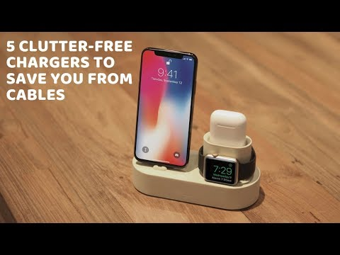 5 Clutter Free Wireless Charger To Save You From Cable
