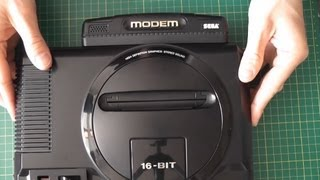 SEGA Mega Drive Modem - Unboxing + Review - Game Toshokan Bundle セガゲーム図書館
