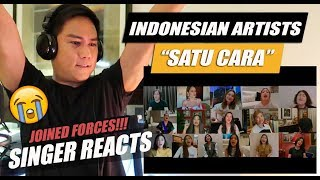 Download lagu Satu Cara (Official Video) - Indonesian All Artist | SINGER REACTION