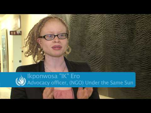 Protect rights of persons with albinism