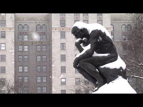 Snow in Detroit