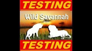 Roblox Wild Savannah Testing A (part 1)