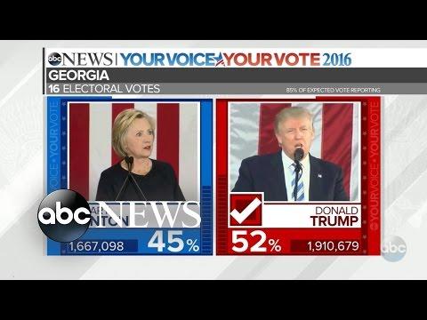 Trump Wins Georgia   2016 Election Results