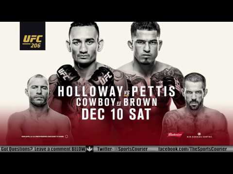 UFC 206: Holloway vs. Pettis Media Conference Call