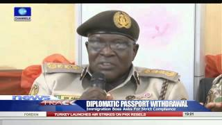 Diplomatic Passport Immigration Boss Asks For Strict Compliance 100915