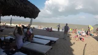 Вьетнам, Нячанг. Городской пляж, опасные волны. Январь 2017г. Часть 7-я.(В данном видео вы увидите, какие бывают волны в Нячанге. А так же узнаете, получилась у нас попытка подняться..., 2017-02-05T05:21:09.000Z)
