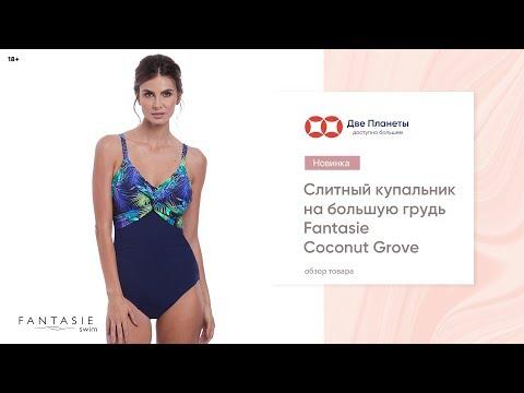 Слитный темно-синий купальник Fantasie, размер чашки до H – купить в Москве и СПб