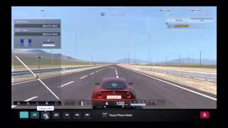 Gran Turismo 5 Max G-Force Test Alfa Romeo 8C Competizione '08