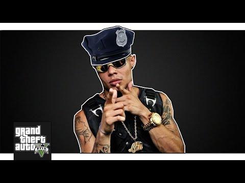 IRRITANDO JOGADORES NO GTA V: MC Lan Policial!
