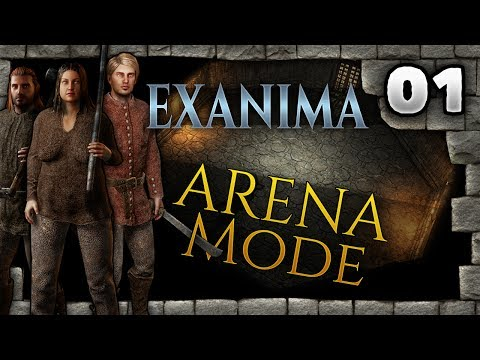Big Beautiful Nadine | Exanima | Arena Mode | #01