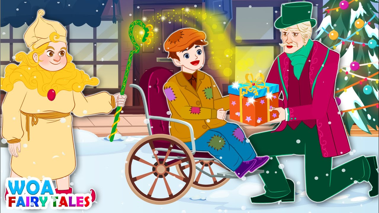 Old Scrooge And Sandman 🎁 Story in English | Stories For Teenagers | WOA Fairy Tales