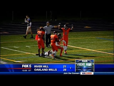 High 5 Friday Night: Game of the Week - River Hill vs. Oakland Mills