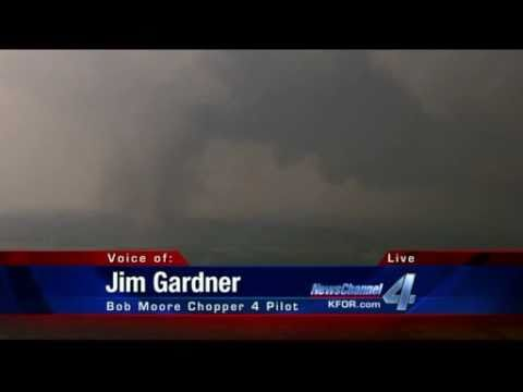 Monsters from the Sky - Tornado in Oklahoma - May 24th - from BOB MOORE  Chopper 4