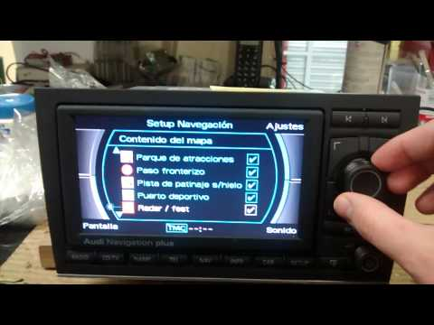 Audi Rns E Injected With Car Pc Touchscreen Doovi