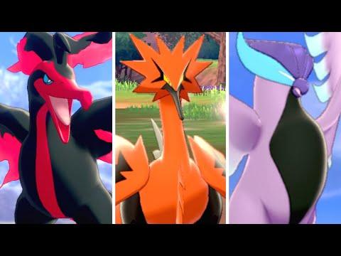 Pokémon Sword & Shield: Crown Tundra - Catching All Legendary Birds
