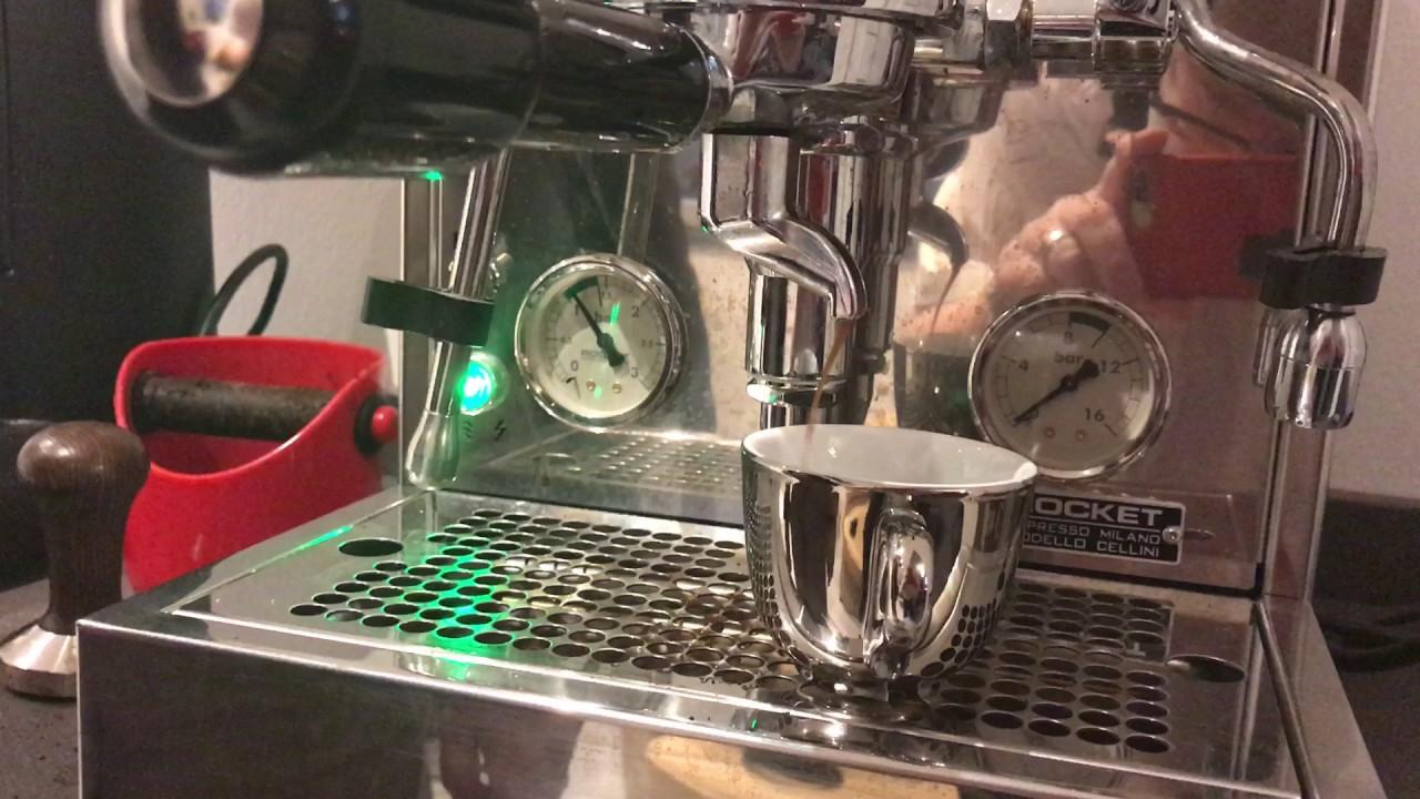 Kaffeemaschine Rocket bringt den Druck nicht mehr - YouTube