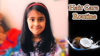 My Daughter's Hair Care Routine I How to get long hair I Coconut Oil I Happy Home Happy Life