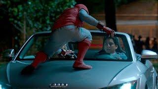 """Живо тачку и телефон! -""""Человек-паук: Возвращение домой"""" отрывок из фильма"""
