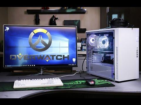 오버워치 PC 조립하기 144Hz 모니터