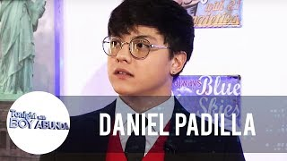 Daniel talks about his viral video with James Reid |  TWBA