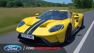 Le Mans 24 Hours 2017: Ken Block Test Drives the Ford GT | Le Mans | Ford Performance