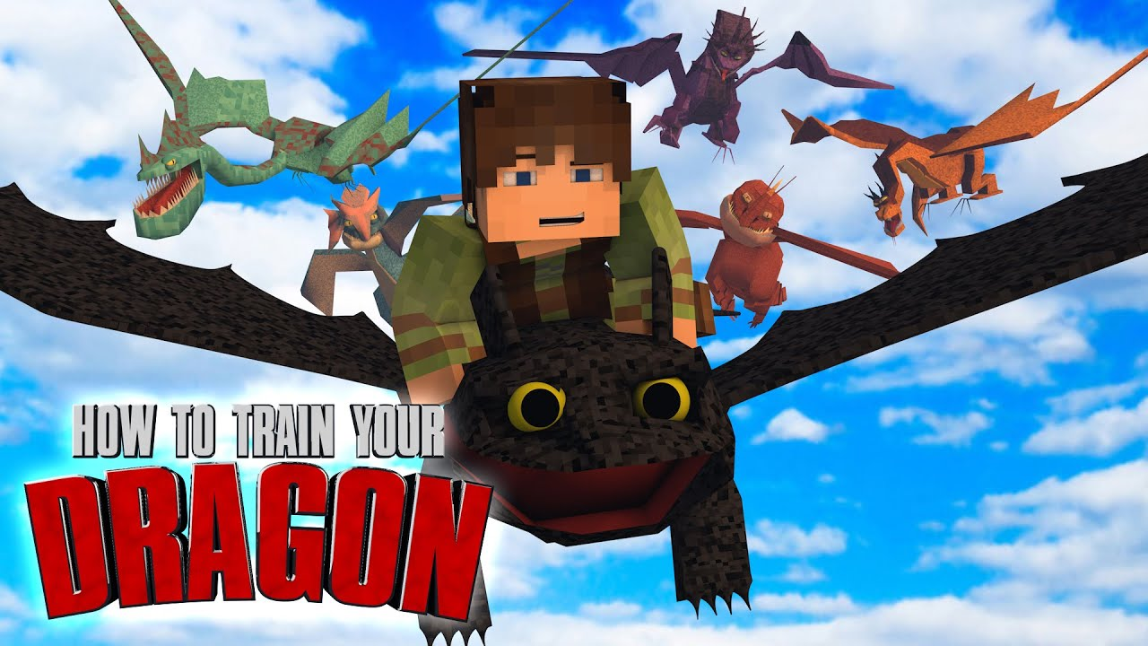 minecraft how to train your dragon ep 16 new ice dragons youtube