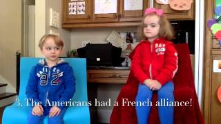 Kids learning history: The American Revolution!