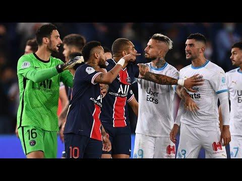 Elszakadt a cérna  Neymar piros lapot kapott a Marseille ellen thumbnail