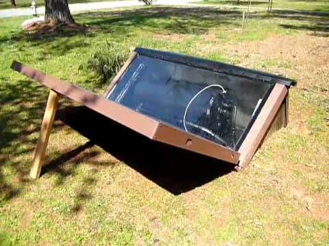 DIY Solar Batch Water Heater Build Part 4 of 4 - YouTube