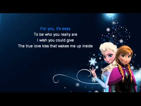 Elsa - Touch of ice - Karaoke
