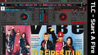 TLC   Start A Fire vs Roses by SAINt JHN