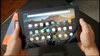 Amazon Fire HD 10 Tablet With Alexa (2017) + Amazon Flip Cover - Hands On