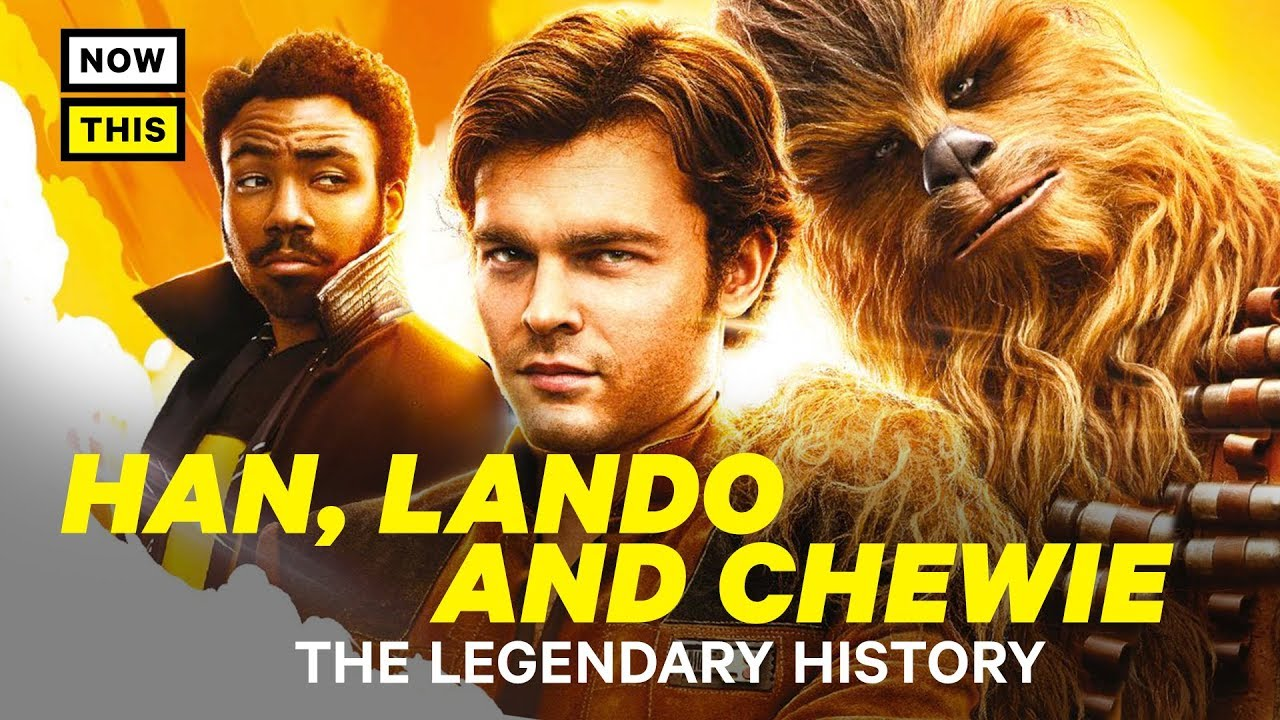 Solo: A Star Wars Story: The Legendary History of Han, Lando, and Chewie | NowThis Nerd