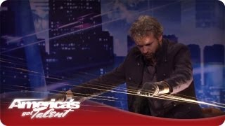 William Close Amazes Howard With Musical Talent - Audition America