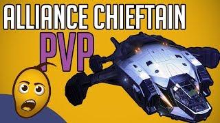 Alliance Chieftain PvP: 1v4? [Elite: Dangerous]