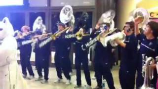 uconn pep band msg neck