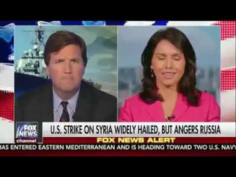 Congresswoman Tulsi Gabbard on the US strikes on Syria