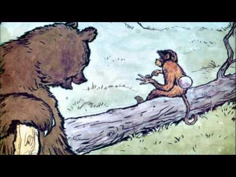 Обезьяна и зеркало мультфильм