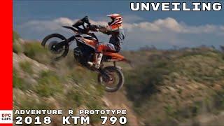 2018 KTM 790 Adventure R Prototype Unveiling