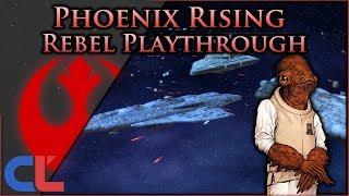 Rebel Strike [ Rebel ]  Phoenix Rising 2.0 - Star Wars: Empire at War Mod - -  Ep 1