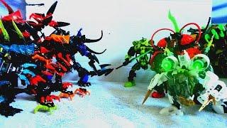 Jaeger & Kaiju - Pacific Rim (Hero Factory MOCs)