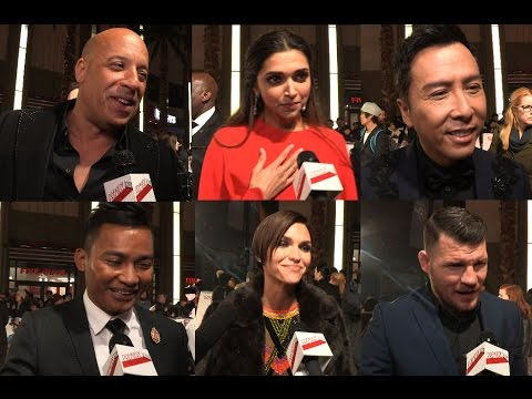 xXx: Return of Xander Cage – Premiere interviews – Vin Diesel, Deepika Padukone, Donnie Yen