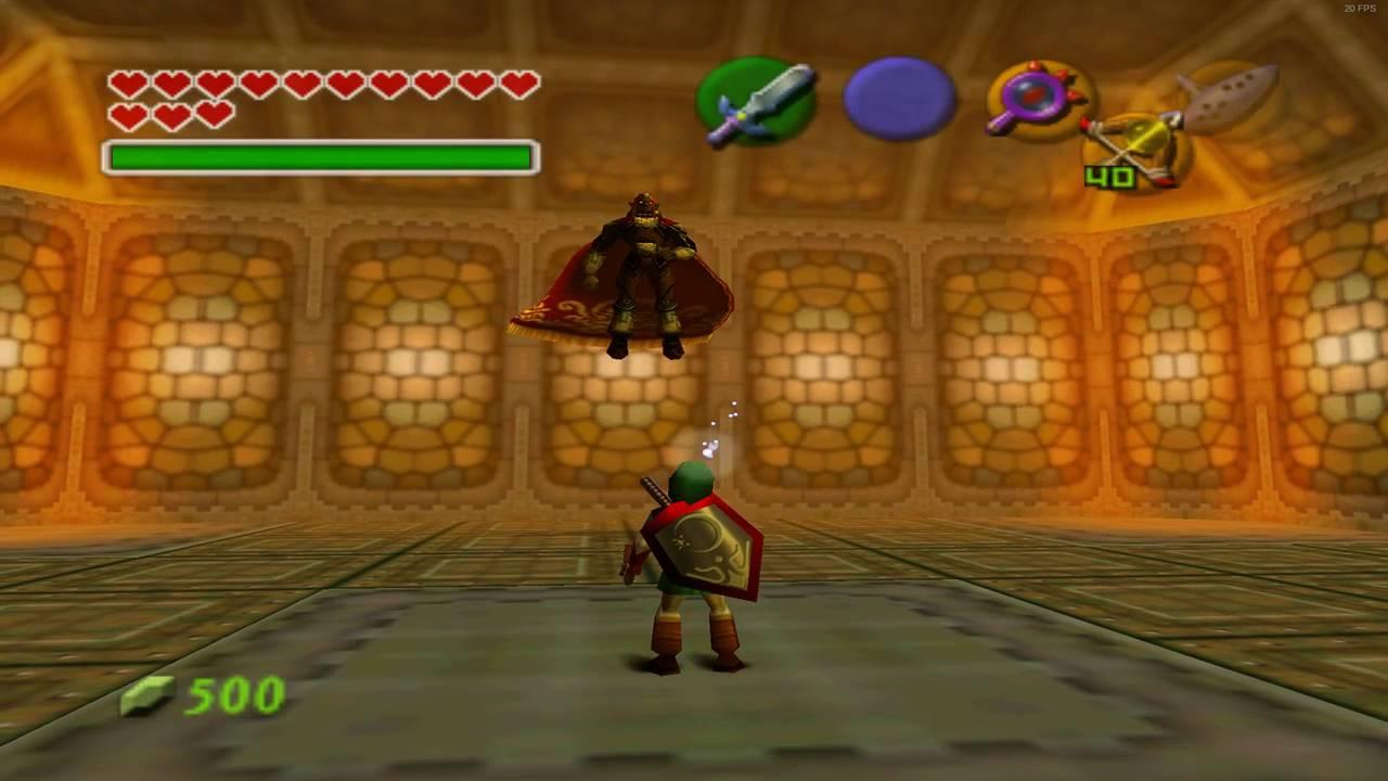 Ocarina Of Time Ganon Fight