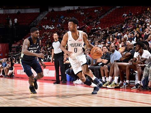 Memphis Grizzlies vs. New Orleans Pelicans - Summer League 2019 Semifinal - Full Game Highlights