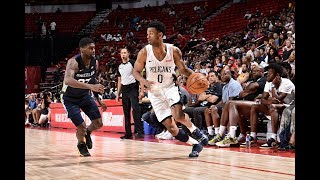 Memphis Grizzlies vs. New Orleans Pelicans - Summer League 2019 Semifinal - Full Game Highlights
