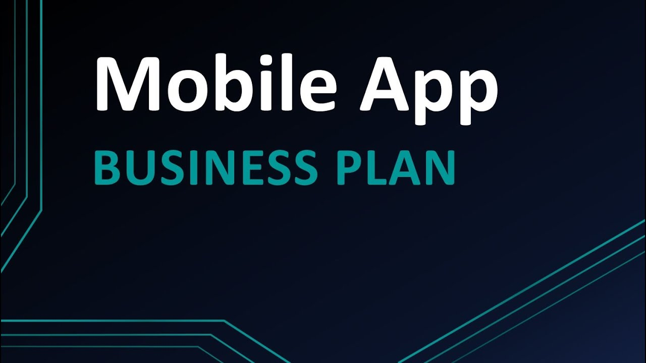 application mobile internet business plan