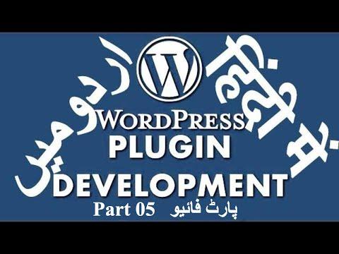 Part 05 WordPress Plugin Development Tutorial Series in اردو / हिंदी: Hooks and Enqueue Resources thumbnail