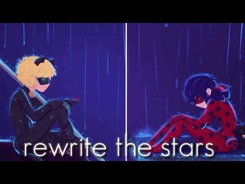Nightcore - rewrite the stars[ switching vocals ]with lyrics